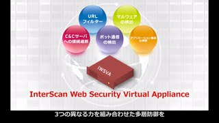 標的型サイバー攻撃 出口対策 InterScan Web Security Virtual Appliance