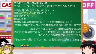 【ゆっくり解説】コンピューターウイルス種類など【2/1】