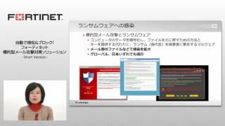 標的型メール攻撃対策のご紹介 – Short Version – (4分間)