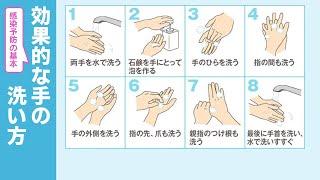 これからも続く感染症対策 ウイルスを10万分の1に減らす手洗い法