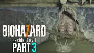 ウイルスに感染したワニに丸飲みされる恐怖【バイオハザード7 END OF ZOE】PART3