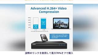 今日 SANNCE 8CH POE 5MP NVR キット CCTV セキュリティシステム 2MP Ir 屋外防水 IP カメラマイクとオーディオ録音ビデオ監視キット